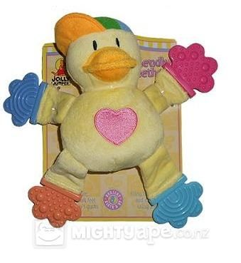 Jolly Jumper Teether Friends - Duck