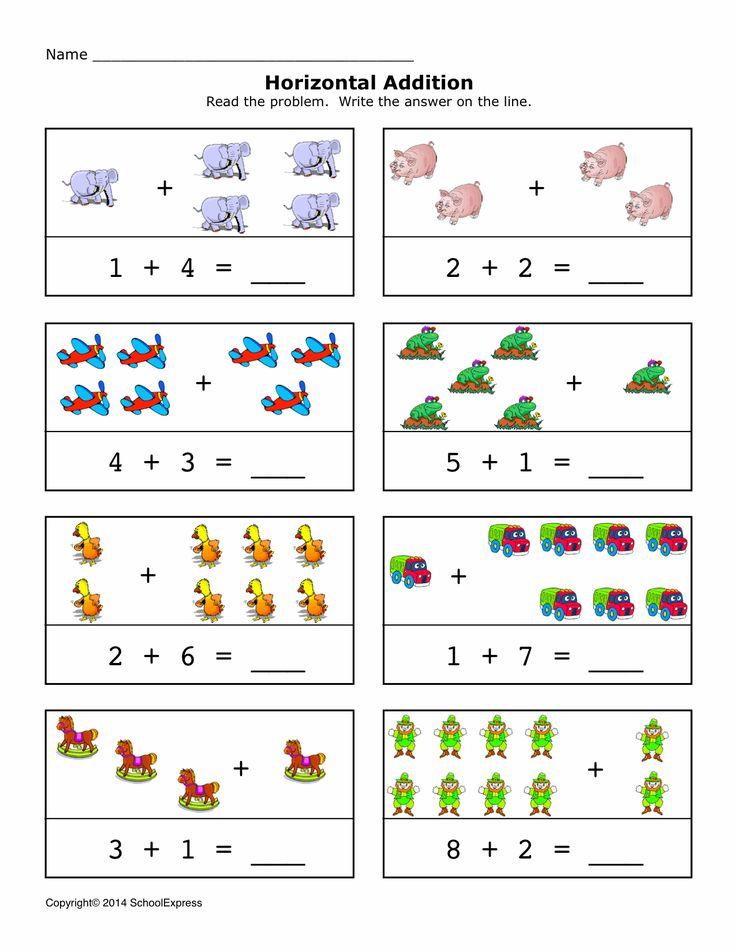 12 best Horizontal Addition images on Pinterest | Math addition ...