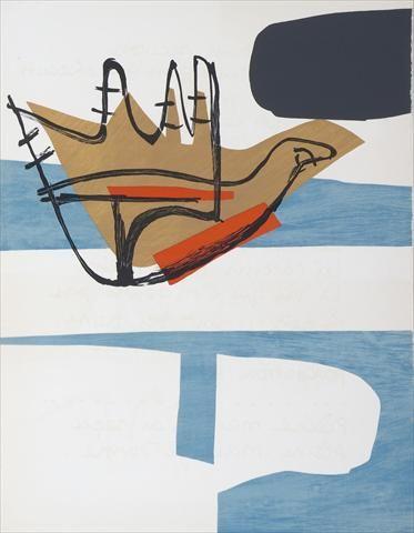 Fondation Le Corbusier - Estampes - La main ouverte