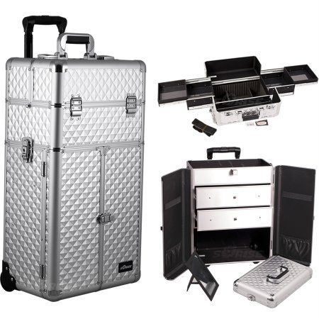 #Amazon #beauty  #Sunrise #Outdoor #Travel #Cosmetic #Holder #Silver #Diamond #Trolley @ http://bit.ly/29AuyCA http://bit.ly/29z7g3y