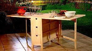 Hágalo Usted Mismo - ¿Cómo construir una mesa multiuso y plegable?
