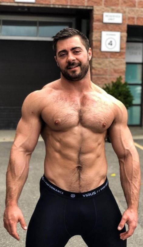 True hairy muscle men tumblr consider