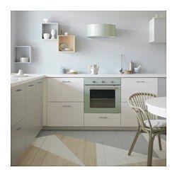 IKEA - REALISTISK, Four, Garantie 5 ans gratuite. Détails des conditions disponibles en magasin ou sur internet.Four à cuisson haut et bas avec chaleur pulsée ; diffuse de l'air préchauffé dans tout le four. Permet de cuire différents plats en même temps sans mélange d'odeurs.La convection naturelle est idéal pour mijoter des plats et obtenir un croustillant parfait.Il est facile de choisir la fonction gril la plus adaptée pour cuire de la viande et des légumes ou faire dorer un gratin…
