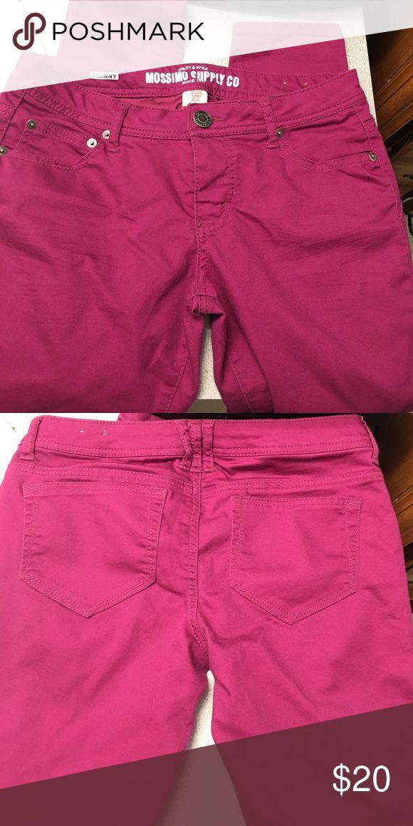 Purple skinny pants Size 9 purple/pink skinny pants. Mossimo Supply Co Pants Skinny