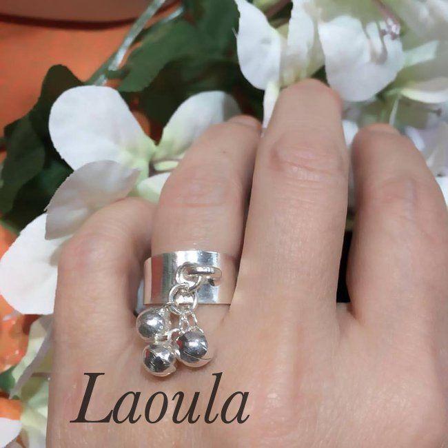 Bague argent créateur Laoula, bijoux ethnique 247708