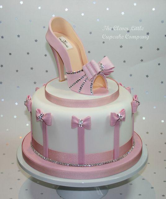 Fabulous Shoe Cake