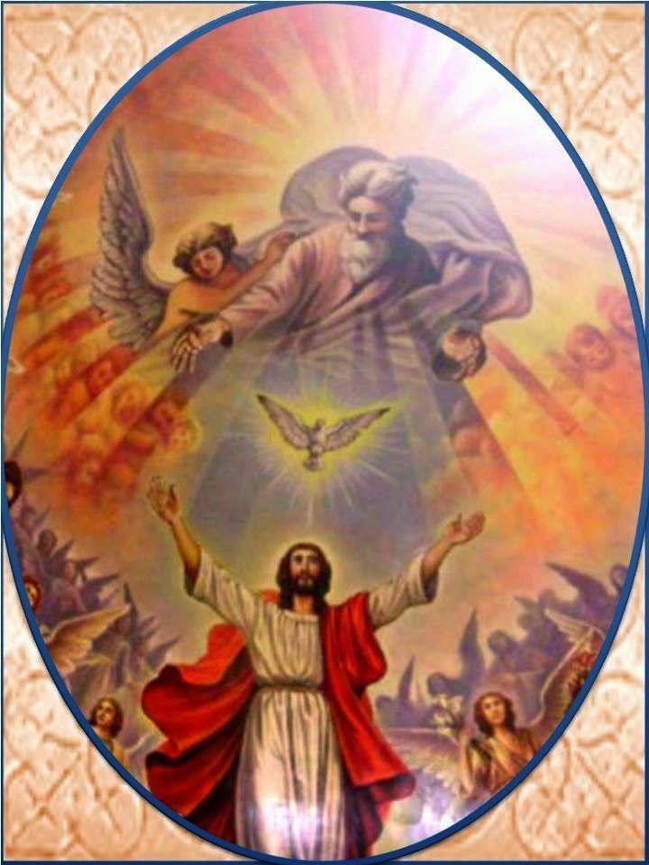 31 De Mayo 2015 Fiesta Solemne De La Santísima Trinidad La Santa Iglesia dedica el siguiente domingo después de Pentecostés ...