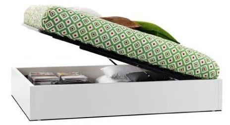 Säng med förvaring med upplyftbar ram och ribbotten. Kostar 9 260 kronor exklusive bäddmadrass på Boconcept Foto:boconcept.se