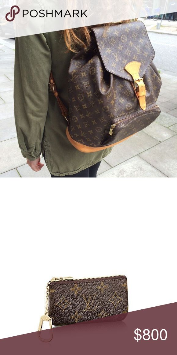 ✨ISO✨ Louis Vuitton Montsouris Backpack and Cles I am looking to purchase this backpack. I would prefer for it to be auth but if it's a great r e p, I'd buy! Not looking to spend a ton of money either. Please help me find or let me know if you have one. I'm also looking for an AUTHENTIC Louis Vuitton Cles Pouch (key pouch/coin purse) in the monogram print. AUTHENTIC not r e p. Thank you for all the help!! Louis Vuitton Bags
