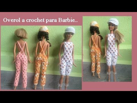 Overol para Barbie