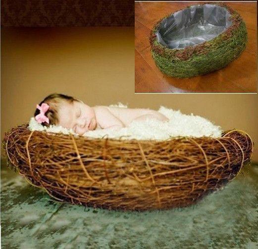 Новорожденный фотографии фото реквизит ручной трава корзины D 19, принадлежащий категории События и праздничные атрибуты и относящийся к Для дома и сада на сайте AliExpress.com | Alibaba Group