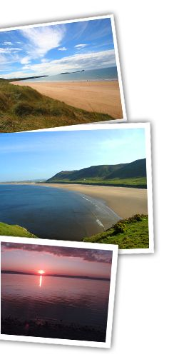 Hillend Caravan & Camping Park on the Gower Peninsula