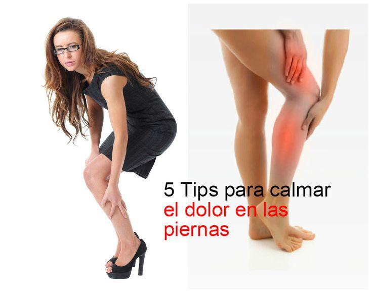 Cómo calmar el dolor en las piernas