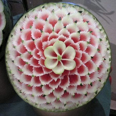 Watermelon Flower by Takashi via designswan.com.