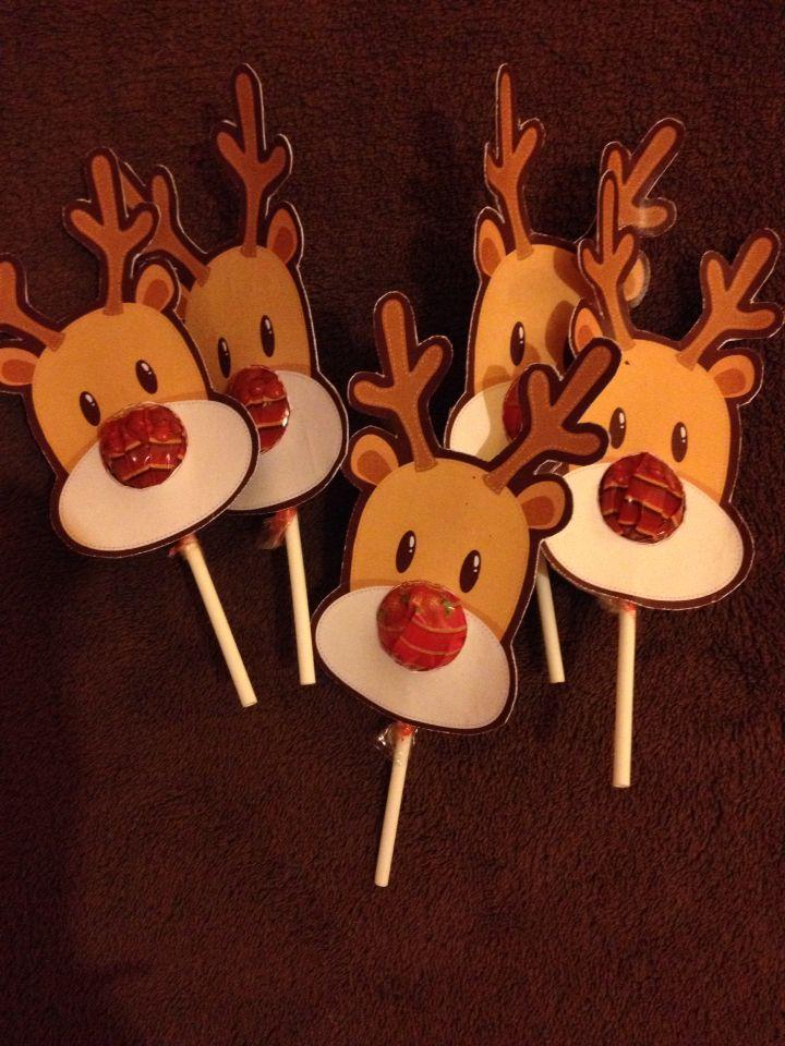 Reindeer lollipop