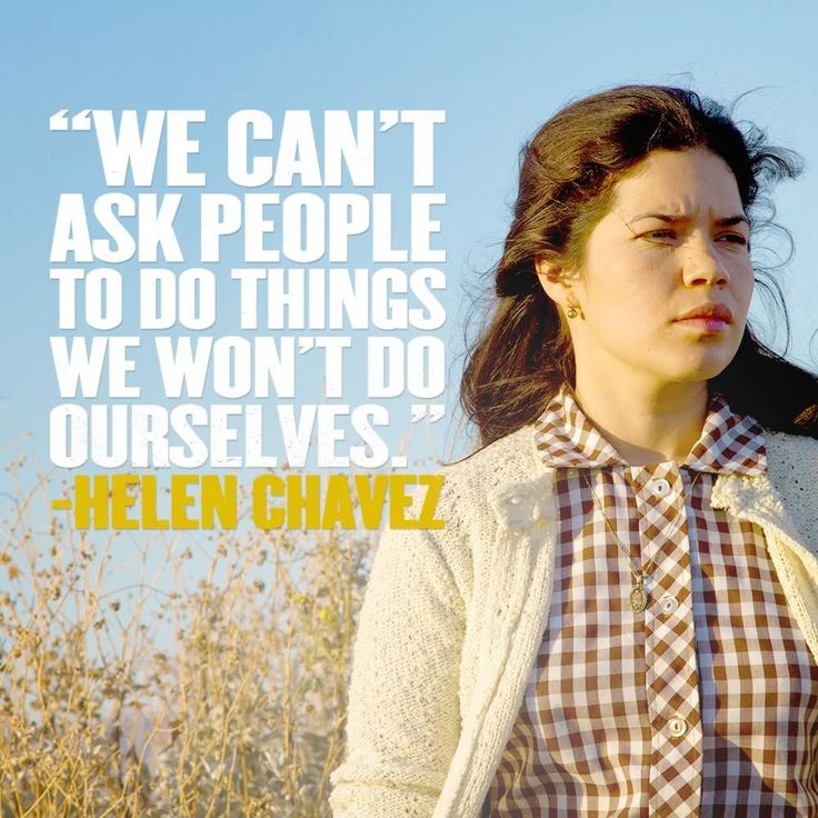 See @americaferrera as Helen Chavez on March 28th #sisepeude