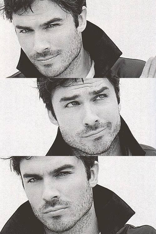 Ian Somerhalder. dear lord hes gorgeous.. sorry hubby.. hahaha i will love damon forever.. just sayin