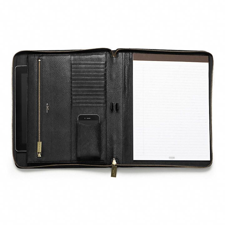 12 best leather portfolio, conference folder, leather padfolio - resume portfolio folder