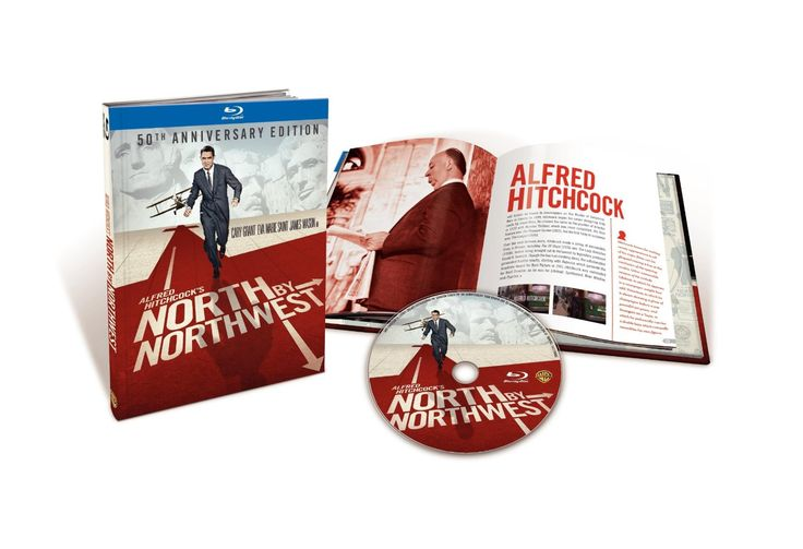 Amazon.com: North by Northwest (50th Anniversary Edition in Blu-ray Book Packaging): Cary Grant, Eva Marie Saint, James Mason, Martin Landau, Alfred Hitchcock: Movies & TV