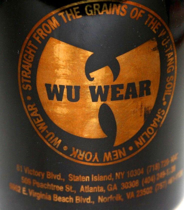 Wu Tang Clan Wu Wear Store Mug 1990s Shaolin Staten Island NY Advertising Swag