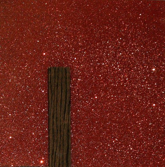 mix a gallon of glue with glitter, the glue dries clear leaving you with a glitter wall