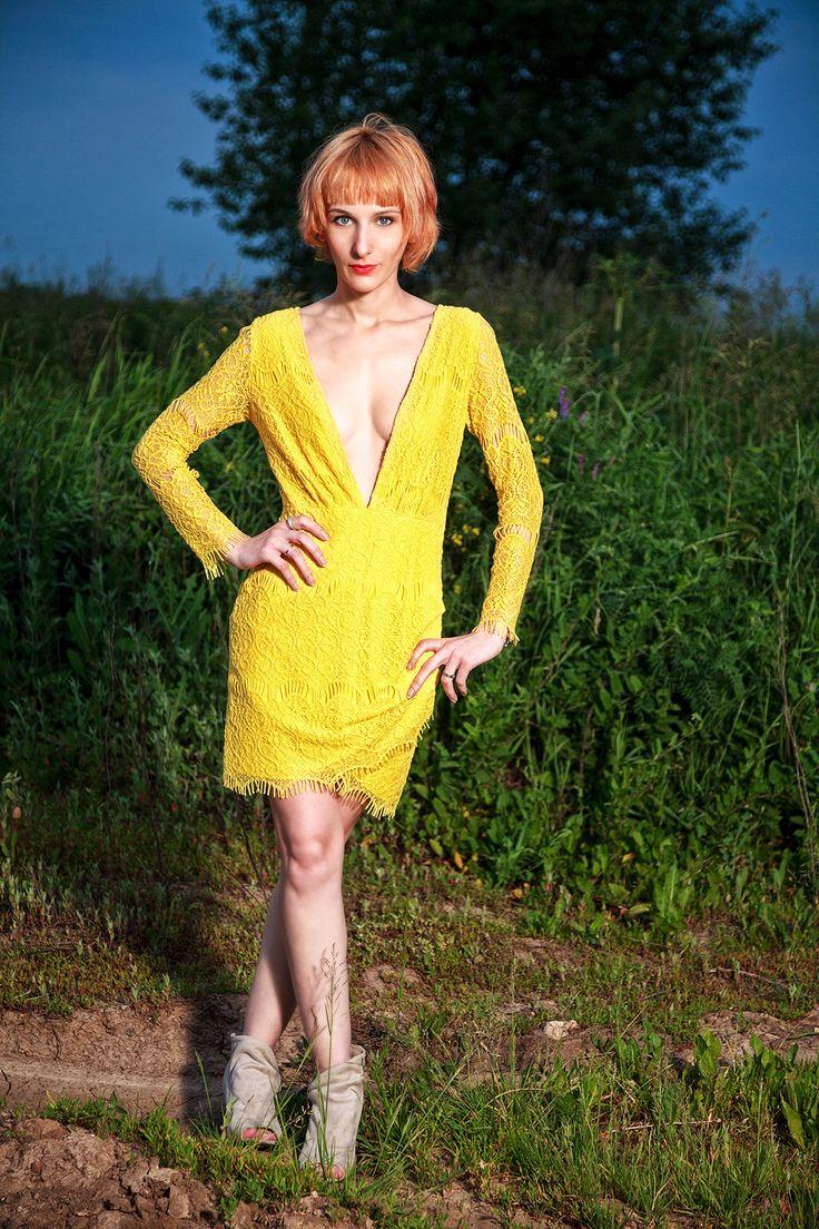 Платье для уверенных в себе девушек. Заказать можно на сайте anfoxs.com