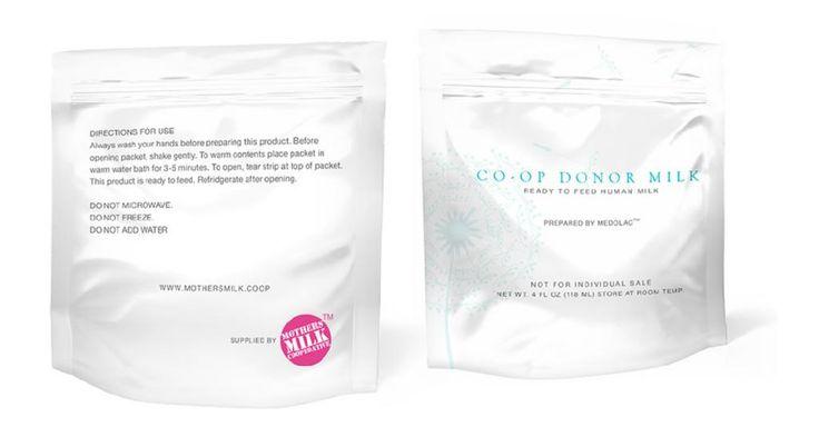 """Co-op Donor melk is de eerste donor melk die je kan """"bewaren bij kamertemperatuur"""". Er is geen bevriezing, geen ontdooien vereist. Verpakt in 4 oz folie pakketjes. Co-op Donor melk is houdbaarheid tot drie jaar. Je hoeft alleen maar het foliepakketje open te scheuren."""