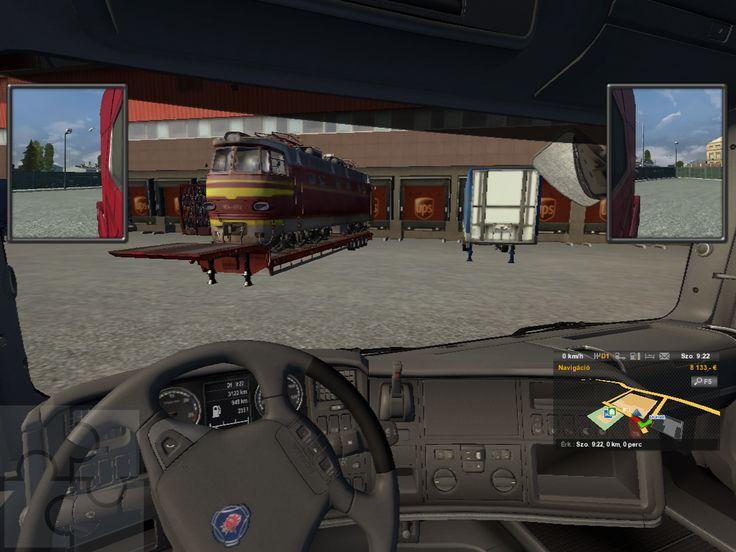 Ez a sorozat képernyőmentés a Trélerek különféle fajtáit mutatja be: atyaég, egy mozdony!!