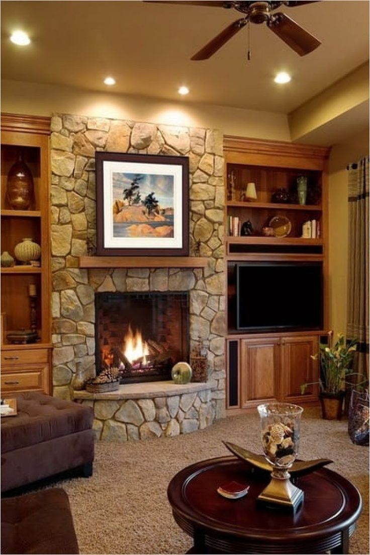 Fireplace Design Ideas for Small Houses | Living room ... on Small Space Small Living Room With Fireplace  id=76443