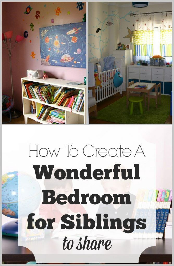 10 best ideas about siblings sharing bedroom on pinterest - Shared bedroom ideas for brothers ...