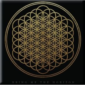 "Official Bring Me The Horizon magnet featuring Sempiternal design. Size measures 8cm (3"") x 8cm (3""),  Perfect for refrigerators lockers & most metal surfaces."