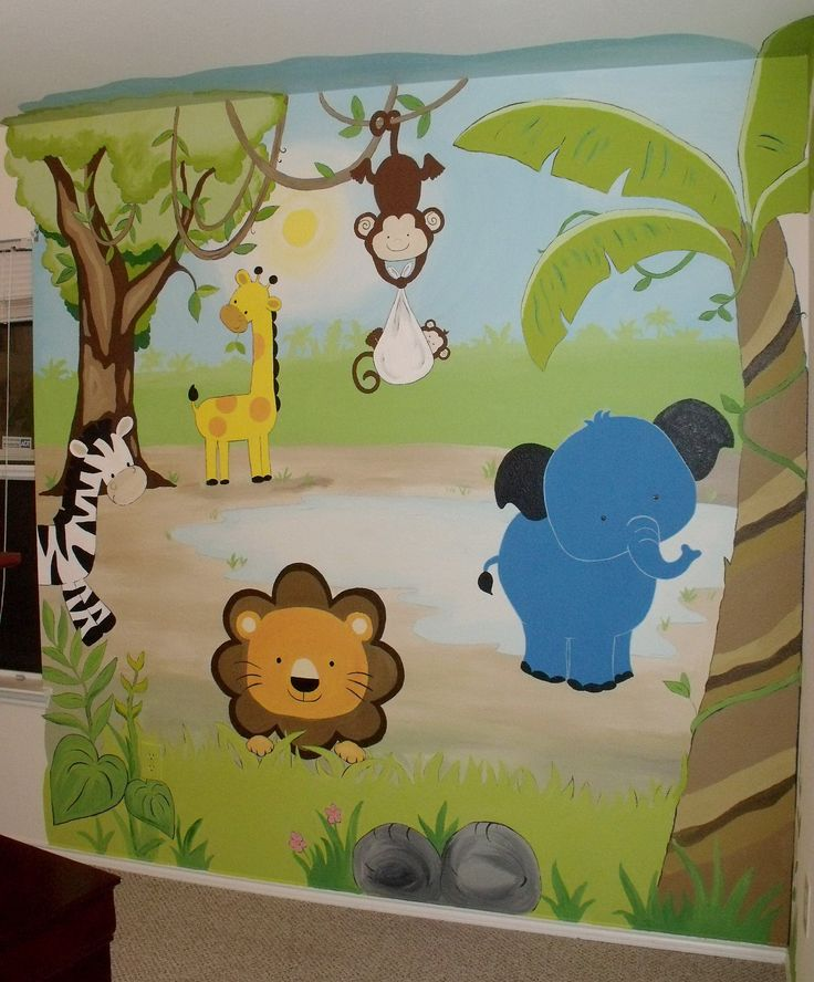 Murals, Face painting, Balloons and Art for Kids - Nurseries