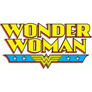 Silhouette Design Store - View Design #77521: wonder woman logo