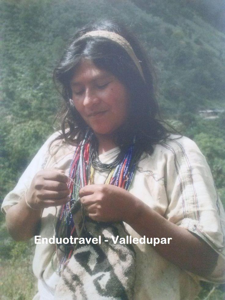 Indigena de la Sierra Nevada de Santa Marta, a orillas de Valledupar