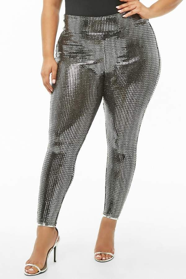8508937ad1f Forever 21 Plus Size Sequin Pants