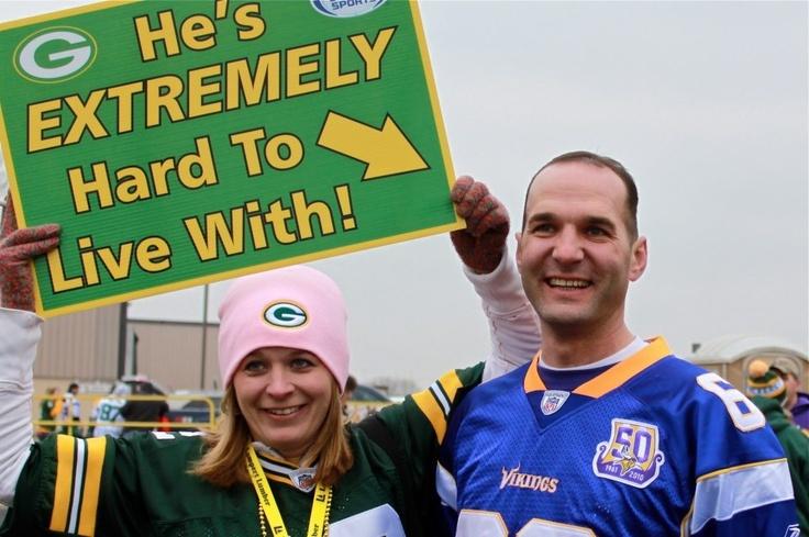 As the wife of a Vikings fan....I can identify