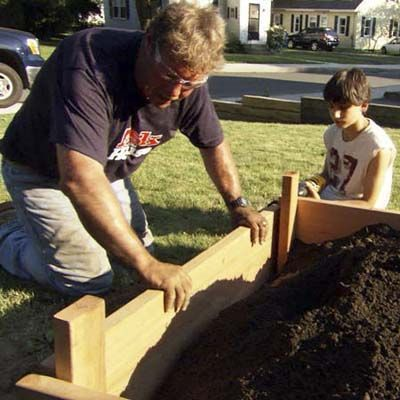 Photo: Ask This Old House TV | thisoldhouse.com | from How to Build a Raised Vegetable Garden: Old House, Raised Vegetables Gardens, Raised Vegetable Gardens