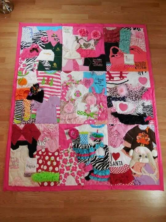 Baby Keepsake Quilt Link Below Is To A Company That Will Make Them