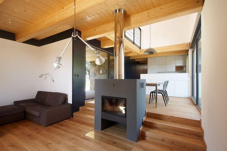 Moderné prevedenie interiéru domu