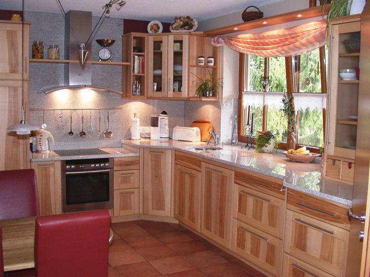 Yli tuhat ideaa Küchen Design Holz Pinterestissä Cooles - holz arbeitsplatten küche