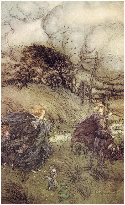 A midsummer-night's dream, Arthur Rackham