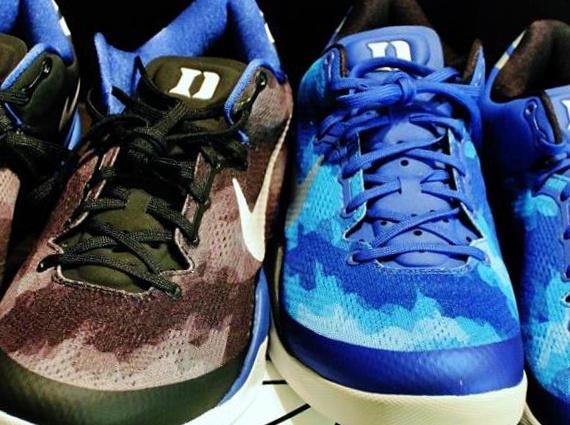 Genuine Nike Kobe 8 Elite Cheap sale Blue Black White 586156 401