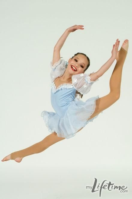 Dance Moms star, Maddie in personal dance photos