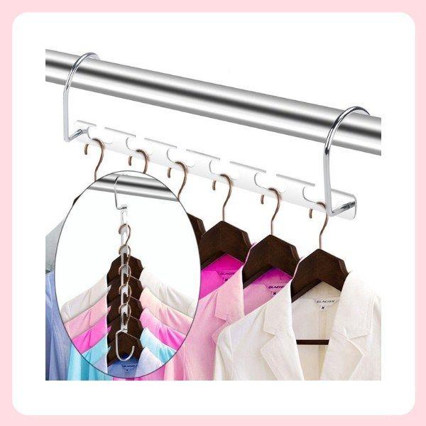 Come organizzare l'armadio: appendiabiti camicie ...