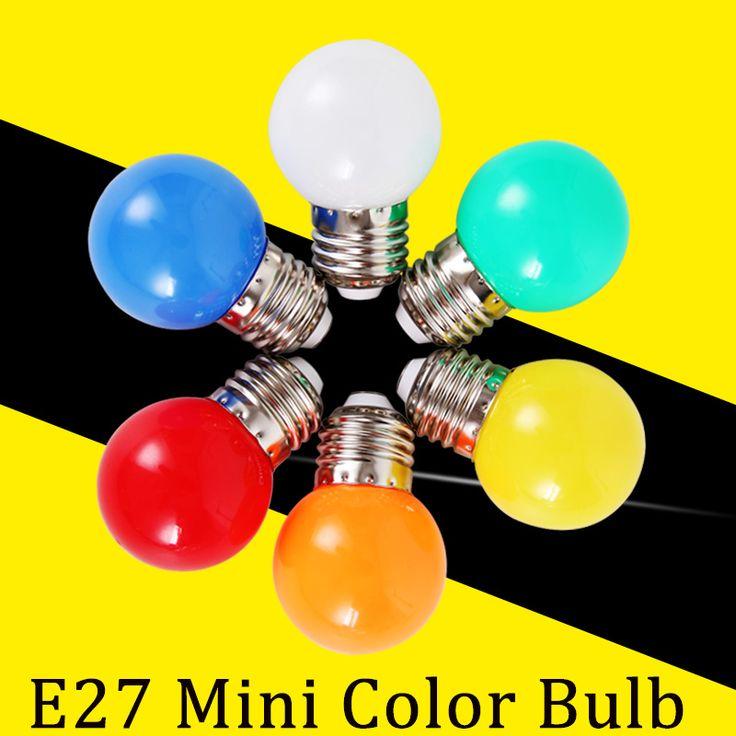 E27 Led-lampe 3 Watt Energiesparlampe 220 V Bombilla Led E27 Bunte Farbe Led-leuchten für Hauptbeleuchtung Weihnachtsdekoration