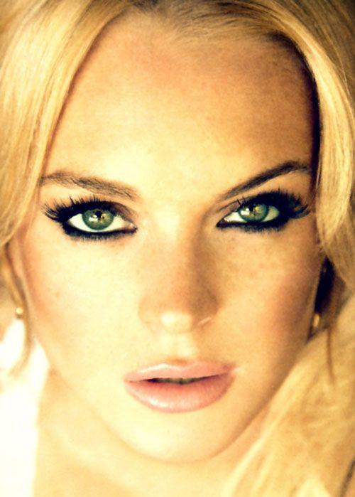 Lindsay Lohan by Ellen von Unwerth. 2010.