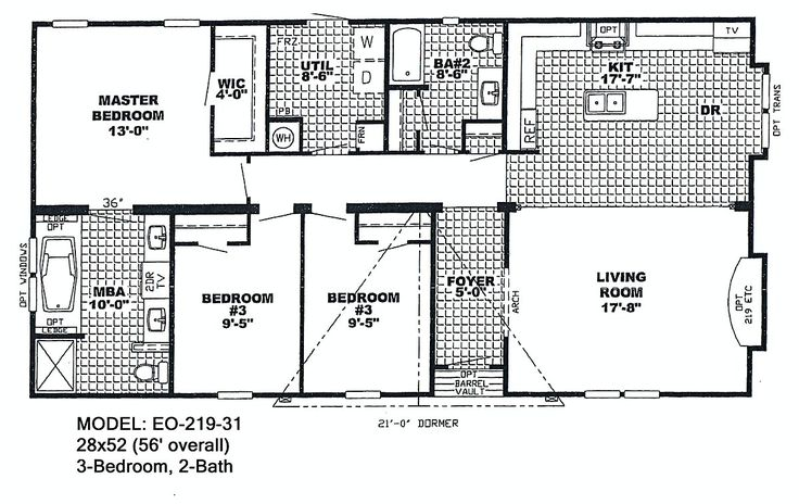 Double Wide Floor Plans Nc: Best 25+ Triple Wide Mobile Homes Ideas On Pinterest