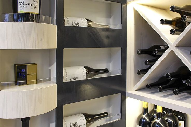 A Technological Wine Cellar For Yachts And Boats Contemporary Design Lighting Control System Wine Collection