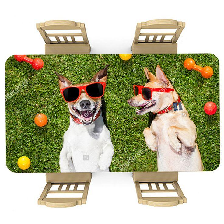 Tafelsticker Lekker chillen | Maak je tafel persoonlijk met een fraaie sticker. De stickers zijn zowel mat als glanzend verkrijgbaar. Geschikt voor binnen EN buiten! #tafel #sticker #tafelsticker #uniek #persoonlijk #interieur #huisdecoratie #diy #persoonlijk #hond #honden #zomer #zonnebril #gras #zomers #huisdier #dier
