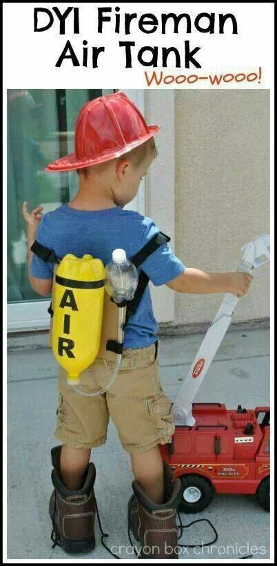 Do it Yourself fireman air tank